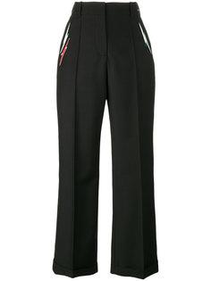 брюки с вышивкой Starman Racil