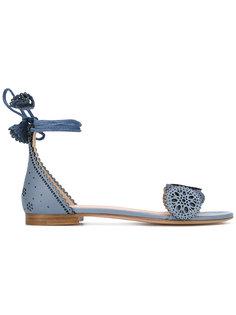 lace-up sandals  Unützer