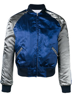двухцветная куртка-бомбер Comme Des Garçons Shirt