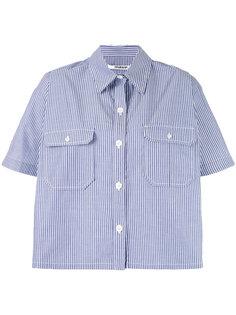 полосатая рубашка кроя кейп Chalayan