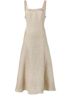 длинное платье La Mola Maryam Nassir Zadeh