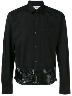 рубашка с поясом  Comme Des Garçons Shirt
