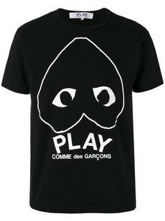 футболка с графическим принтом  Comme Des Garçons Play