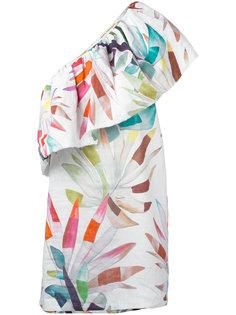 мини-платье на одно плечо Mara Hoffman