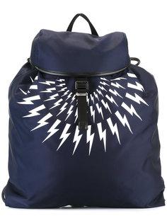 рюкзак с принтом молний Neil Barrett