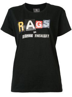 футболка с принтом логотипа Sophie Theallet