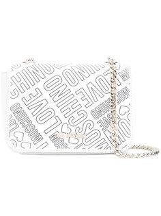 сумка через плечо с принтом-логотипом Love Moschino