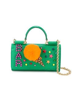 сумка через плечо с мороженным Dolce & Gabbana