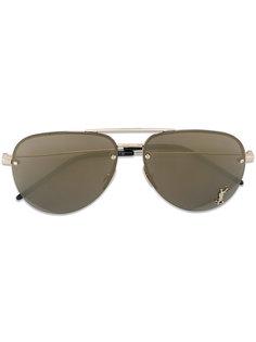 солнцезащитные очки-авиаторы Saint Laurent