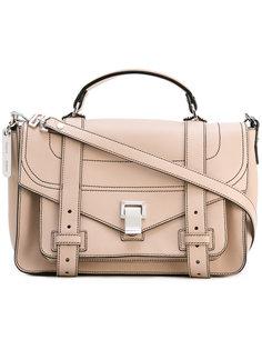 сумка-сэтчел с контрастной строчкой Proenza Schouler