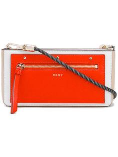сумка через плечо с плетеной лямкой DKNY