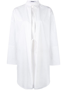 удлиненная рубашка с завязками на талии Chalayan