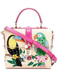 сумка-сэтчел с принтом Dolce & Gabbana