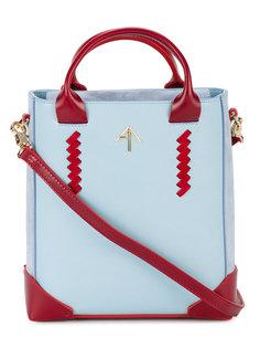 сумка-тоут со съемной лямкой Manu Atelier