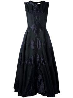 расклешенное платье с вышивкой Roksanda