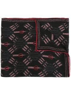 шарф с принтом Valentino