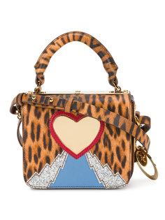 мини-сумка с леопардовым принтом Sophie Hulme