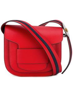 сумка с полосатым плечевым ремнем Tory Burch