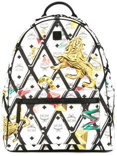 рюкзак с рисунком MCM