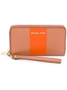 кошелек с круговой застежкой-молнией Michael Michael Kors