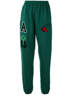 multi-patches sweatpants Aries
