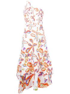 платье шифт с цветочным принтом Peter Pilotto