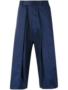 укороченные брюки со складками Sunnei