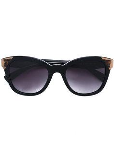 крупные солнцезащитные очки формы кошачий глаз Valentino