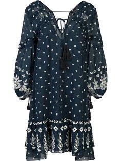 полупрозрачное платье с цветочным узором Derek Lam 10 Crosby