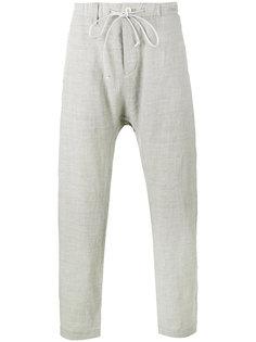 брюки с заниженным шаговым швом Kazuyuki Kumagai