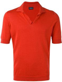 open neck polo shirt  Drumohr