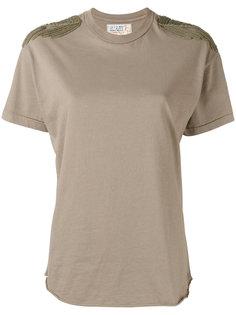 shoulder patch T-shirt  Sandrine Rose