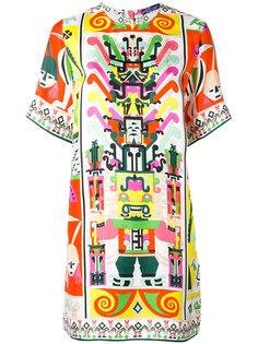 платье с принтом  Emilio Pucci