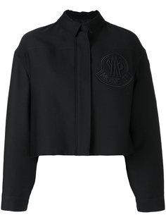 укороченная куртка-бомбер Moncler Gamme Rouge