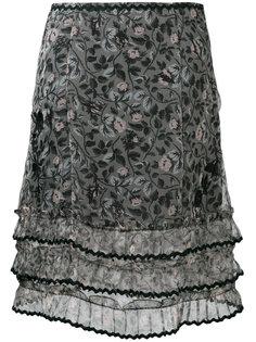 юбка с принтом  Coach
