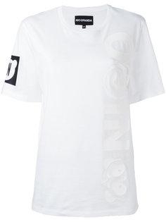 logo print T-shirt Nicopanda