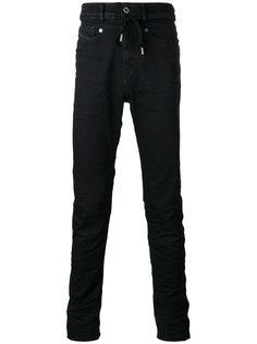 high waist drawstring skinny jeans Diesel Black Gold