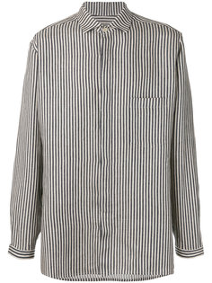 полосатая рубашка Yohji Yamamoto