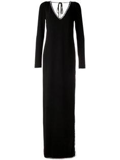 вечернее платье с пайетками Dsquared2