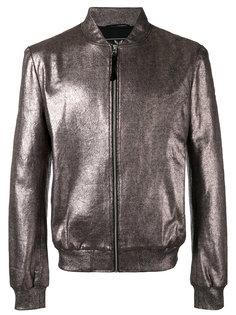 куртка-бомбер с отделкой металлик Unconditional