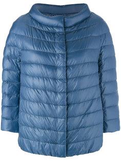 дутая куртка с рукавами три четверти Herno