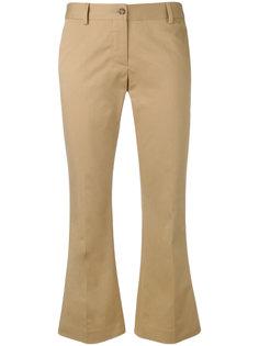 расклешенные укороченные брюки Alberto Biani