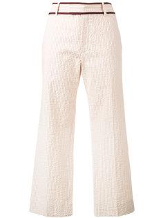 укороченные брюки в полоску Jour/Né