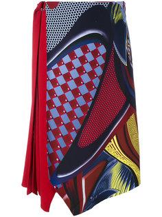 асимметричная юбка миди Energy Wave  Versace