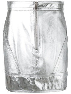 юбка мини с эффектом металлик Dsquared2