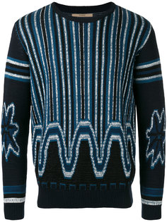 свитер с узором Nuur