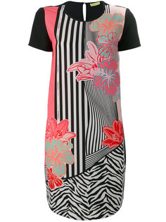 платье с цветочным рисунком Versace Jeans