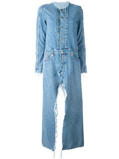 джинсовое пальто Unravel Project