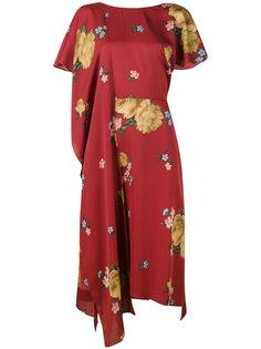 платье с цветочным принтом Magda Butrym