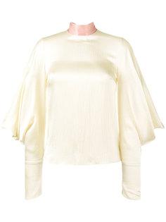 блуза Myra с завязками на шее  Roksanda